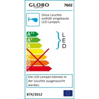 LED Wandleuchte GORDON 7602